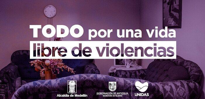 Las acciones y los mensajes de la campaña podrán consultarse en las redes sociales de la Secretaría de las Mujeres de Antioquia...