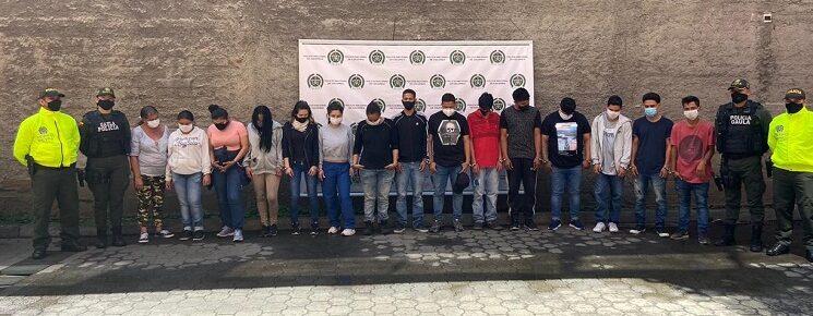 Entre los procesados se encuentra el presunto cabecilla Juan Carlos Rodas Álvarez, alias Juano o Cumbambón...